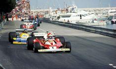 Niki Lauda & Ronnie Peterson @  Monaco...