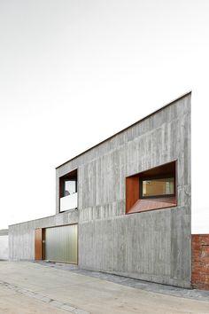 Alcolea + Tárrago arquitectos. Casa MP en Sesma, Navarra.