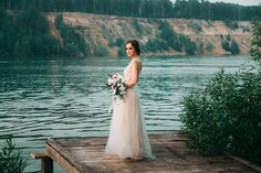 Beige and emerald Wedding Colours for a beach themed wedding + beige wedding dress