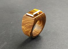 wooden ring //ring for women //wood ring // Olive wood ring