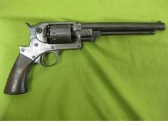 Civil war Starr SA army 44cal martial revolver. This is the third most common pistol purchased by the U.S. government during the war, after Colt and Remington.