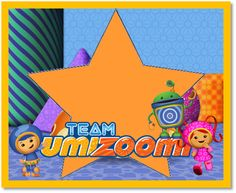 Team Umizoomi Free Printable Mini Kit.