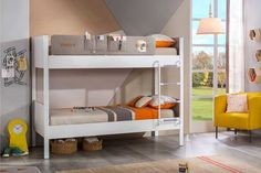 Fun And Elegant Cool Bunk Beds Save space in your teen boy's room with cool bunk beds from Babios. Add a touch of style and sophistication to his bedrooms with our comfortable and stylish teen boy bedroom furniture. Teen Boy Bedding, Teen Boy Rooms, Adult Bunk Beds, Kids Bunk Beds, Modern Bunk Beds, Cool Bunk Beds, Cheap Bedding Sets, Bedding Sets Online, Teen Bedroom Furniture