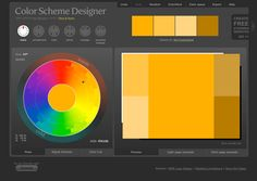 lacking inspiration for your colour palette? this website gives you suggestions!