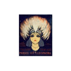 Cover for Score of 'Die Perlen Der Cleopatra', Operetta by Oscar... ($60) ❤ liked on Polyvore featuring home, home decor, wall art, artists-german school, giclee wall art and giclee poster