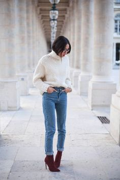 Casual winter outfit ideas and fashion