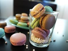 Macaroons...  These look like the famous Paris Laduree ones...  Will need to see if they taste as good...
