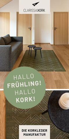 Der CLARISSAKORK Teppich ist eine Bereicherung für jeden Raum und überzeugt neben seiner edlen Optik mit vielen funktionalen Eigenschaften: super pflegeleicht, hygienisch und einfach abwischbar. #cork #teppichdesign #rugdesign #carpetdesign #wohnzimmerteppich #esszimmerteppich #naturmaterial #maßanfertigung #teppich #handgefertigt #nachhaltig #schadstofffrei #vegan #geschmeidig #robust #reißfest #kork #grafik #zigzag #designteppich #wohnzimmer #bad #wc #esszimmer #küche #ecohome #vegan… Zig Zag, Super, Bad, Designer, Vegan, Rugs, Home Decor, Carpet Design, Minimalist