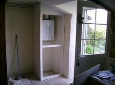 boiler cupboard - Google Search Under Stairs, Boiler, Cupboards, Bathroom Medicine Cabinet, Google Search, Storage, Furniture, Home Decor, Quartos