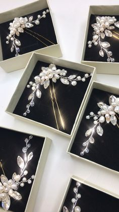 Bridal hair accessories for wedding hairstyles – Famous Last Words Wedding Hair Pins, Wedding Hair Flowers, Headpiece Wedding, Hair Pieces For Wedding, Wedding Accessories For Bride, Bride Hairstyles, Hairstyles Videos, Hair Videos, Bridesmaid Hair