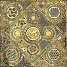 check out the amazingly varied geometry in this mosaic - the Cosmati Pavement at Westminster Abbey in London Tile Art, Mosaic Art, Mosaic Tiles, Tiling, Natural Fiber Rugs, Natural Area Rugs, Textures Patterns, Geometric Patterns, Mosaic Patterns