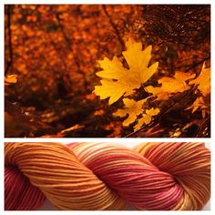 AUTUMN LEAVES ~ Another 100% USA made yarn! These skeins come from a different supplier than my other USA made skeins. These are superwash = they can be machine washed.  Color(s): burnt orange, rusty red, cream (I use only professional grade dyes)  Fiber(s): 100% superwash merino, 100% USA made  Weight: DK  Length/yardage: +/- 212 yards  Care instructions: machine washable, lay flat to dry #yarnbaby #yarn #handdyedyarn #crochet #knit #weaving