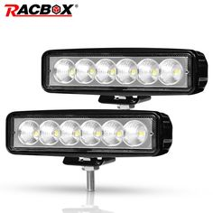 "2X 2.3/"" 9W LED Work Light Flood Beam Lamp For Offroad Trucks Motorcycle ATV 4WD"