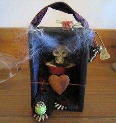AlteRed ArT DaRk ShAdOwS AnGeLiQuE by SauvageRavenCreation on Etsy, $15.00