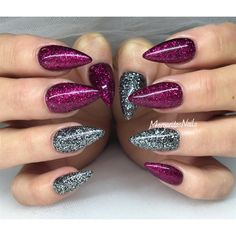 Glitter Nails by MargaritasNailz from Nail Art Gallery