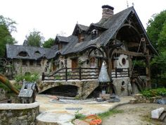 The house of Snow White, in Sucé-sur-Erdre, France
