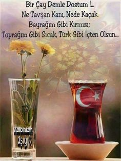 Çay Learn Turkish Language, Book Photography, Glass Vase, Cool Designs, Messages, Tea, Wordpress, Allah, Healthy Eating