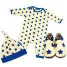 Print Stardom Bgro/Hat/shoe set : An original birth gift for boy