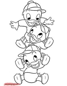 Huey, Dewey and Louie #hueydeweyandlouie, #ducktales