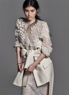 Chris Colls knitwear in The Edit November 2014 [Editorial] Knitwear Fashion, Knit Fashion, Fashion Art, Editorial Fashion, Womens Fashion, Fashion Design, Fashion Trends, Mode Editorials, Looks Style