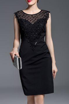 Beaded  Dress ==