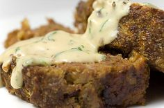 Meat Loaf with Herbed Cream Sauce Recipe - Saveur.com