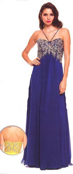 Prom Dresses Evening Dresses under $200<BR>567<BR>Long sweetheart neckline halter dress, empire style bodice.