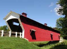 Covered Bridges in Hamilton County, Indiana  -  Travel Photos by Galen R Frysinger, Sheboygan, Wisconsin