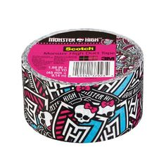 Scotch Duct Tape, Monster High, by Color: Monster High Model: (Hardware & Tools Store) - maker tieks Festa Monster High, Monster High Birthday, Monster High Party, 5th Birthday Party Ideas, 10th Birthday Parties, 8th Birthday, Scotch, Bday Girl, Duct Tape