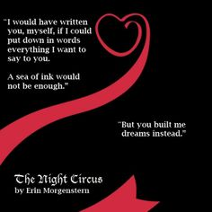 Marco and Celia - The night Circus