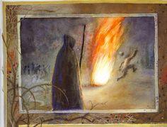 O dobré a zlé moci ; Patrick Seymour, Michael Sowa, Douglas Smith, Gustave Dore, Charley Harper, Illustrators, Painting, Art, Craft Art