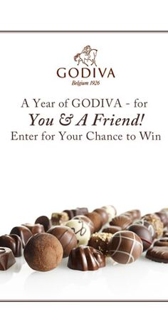Win a Year's Supply of Godiva