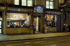 Hard Rock Cafe Edinburgh, Scotland. #hardrock