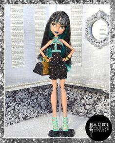 Monster Doll Studded Chic fierce high от HauntCoutureAtelier
