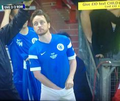 James McAvoy at Soccer Aid 2014