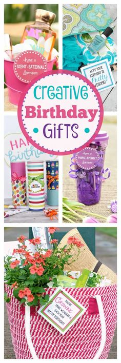 Great Birthday Gifts. These are some fun and creative birthday gifts. #birthday #birthdaygift #giftidea