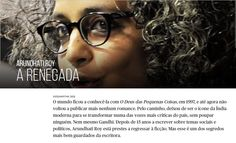 Arundhati Roy, uma renegada