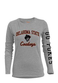 OSU Womens BFF Grey T-Shirt