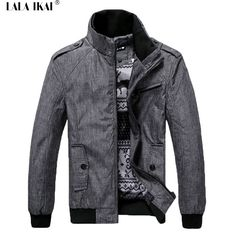 0d00d52f6f7e Soft Spring Windrunner Stand Collar Men Casual Jackets