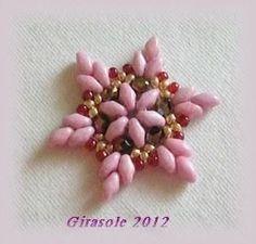 Für den Adventskalender vom Perlenhäkeln-Forum habe ich mir eine kleine Schneeflocke ausgedacht. Sie lässt sich schnell fädeln und man kann...