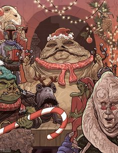 Another Holiday Season Brings Another Awesome Batch of Star Wars Christmas Cards and Ornaments Star Wars Christmas Cards, Disney World Christmas, Christmas Art, Xmas, Star Wars Wallpaper, Galaxy Art, Marvel, Star Wars Humor, Cultura Pop