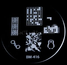"""Bundle Monster Image Plate BM-416 (2013 """"Create Your Own"""" Collection)"""