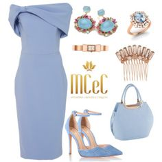 A fashion look from May 2017 featuring Christian Siriano gowns, Schutz pumps and Joe Browns handbags. Browse and shop related looks. Lila Outfits, Dressy Outfits, Stylish Outfits, Black Outfits, Elegant Dresses, Cute Dresses, Look Fashion, Womens Fashion, Fashion Trends