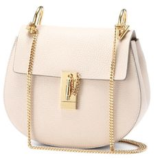 Authentic Chloe Drew Leather Crossbody Bag 100 percent authentic Chloe Drew Leather Bag. Original size, it's not the mini size. Paid and have original receipt from department store. $1850. Color is Abstract White, but has a real pretty light beige pink tint hue to it. Super cute bag. I will no longer use. Price is firm, cheaper on P. Gently used. No scratches on handbag. Inside a little dirty. Comes with dust bag, authenticity card. Chloe Bags Crossbody Bags