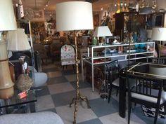 Italian Faux Bois Floor Lamp by FLORIDAMODERN33405 on Etsy