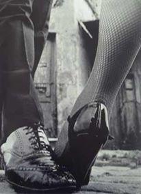 Parada tango step