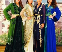So in love with this royal blue caftan!