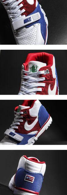 """3e718c8f2322 Nike Air Trainer 1 Mid QS """"Puerto Rico"""" Nike Air Shoes"""