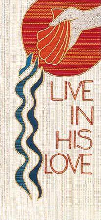 Baptismal banner. Click on picture for website