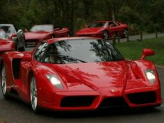 Got to drive one of these beasts!! Enzo Ferrari!!